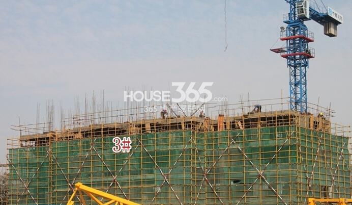 新华联梦想城住宅3#楼工程进度(2014.11摄)