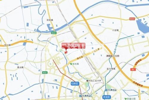 北辰红星国际广场交通图