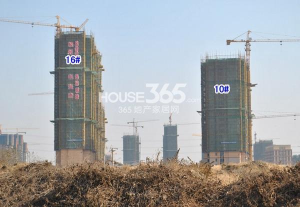 雅居乐中心广场实景图(2014.12 摄)