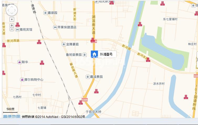 外滩壹号交通图