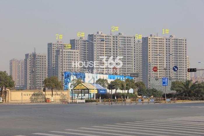 2014年12月瑞立东方花城项目实景--1-3、5-7号楼