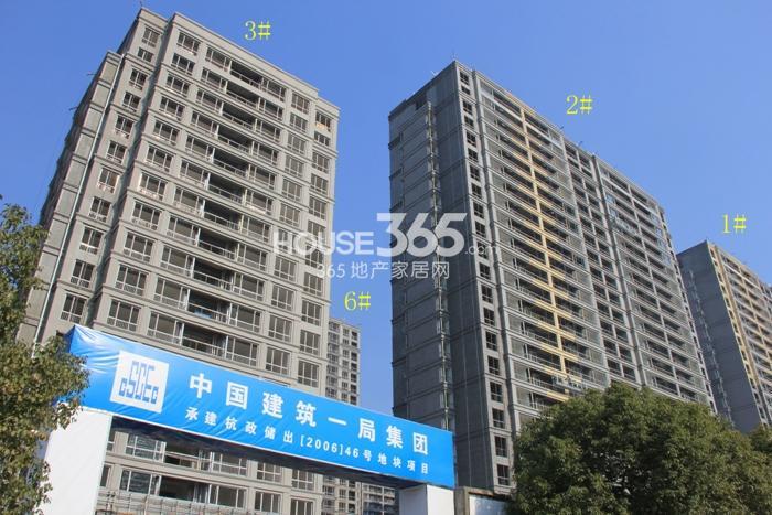 2014年12月瑞立东方花城项目实景--1、2、3、6号楼