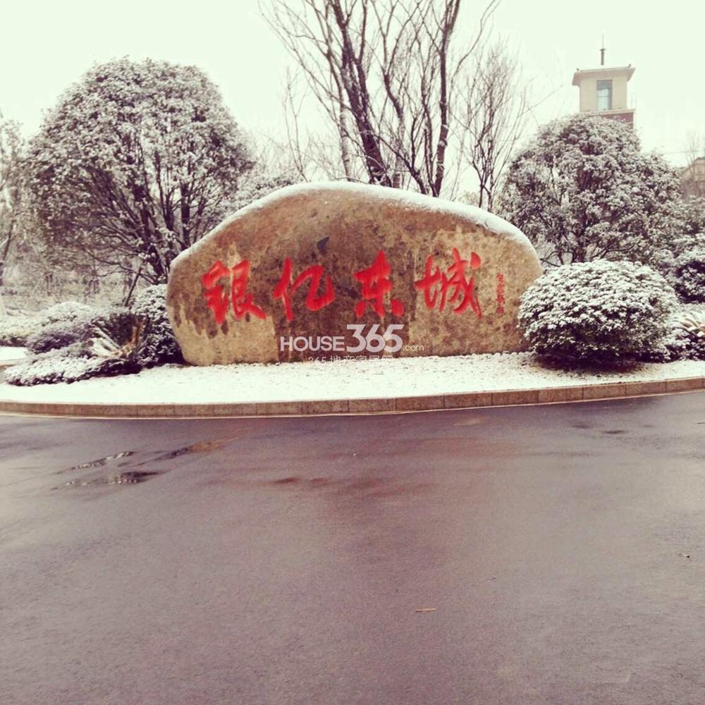 银亿东城雪景(1.28)