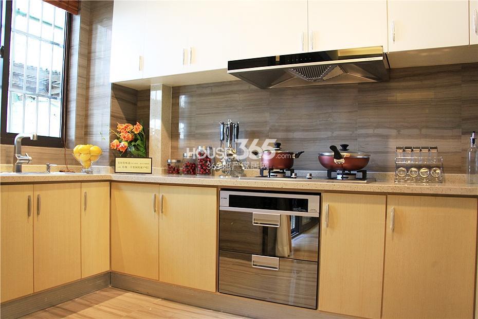 华强城美加印象四期XA-1户型样板房-厨房