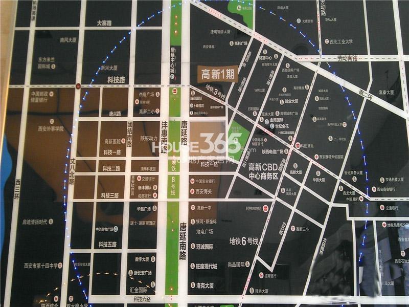 禾盛京广中心交通图