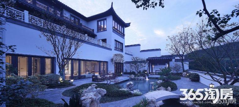 江宁中式合院别墅 坐拥甘泉湖 一览金陵城 融创九溪桃花源