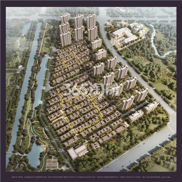 孔雀城时代北宸鸟瞰图