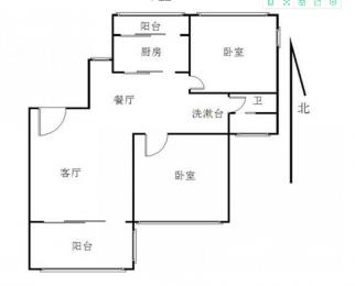仙林外校旁 精装两房 低价出租 设施齐全 拎包入住 随时看房