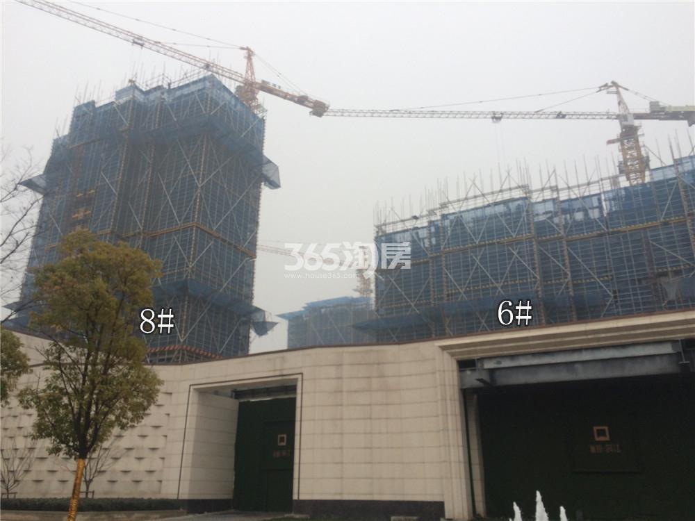 绿地华侨城海珀滨江6、8#实景图(1.19)