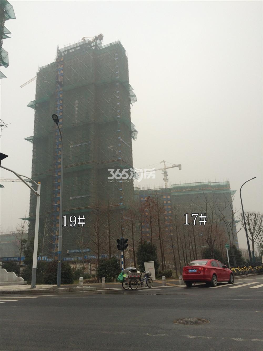 佳兆业城市广场17、19#实景图(1.19)