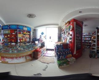 宏邦房产 小区出入口 双门面 在营业中商铺 商业氛围好