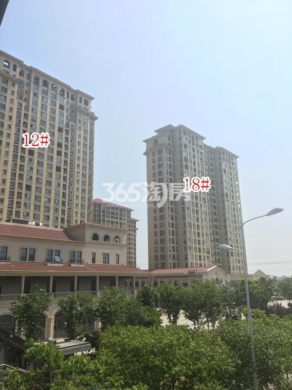 长泰国际社区12#、18#楼高层实景图(2018.9 摄)