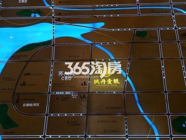 枫丹壹號交通图