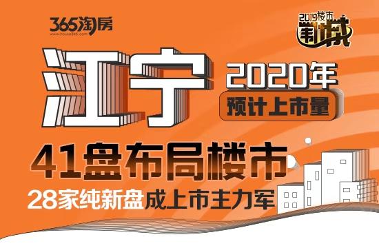 江宁明年41盘布局