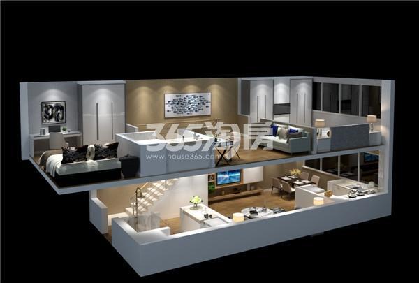紫晶未来城·荣寓51㎡A2户型