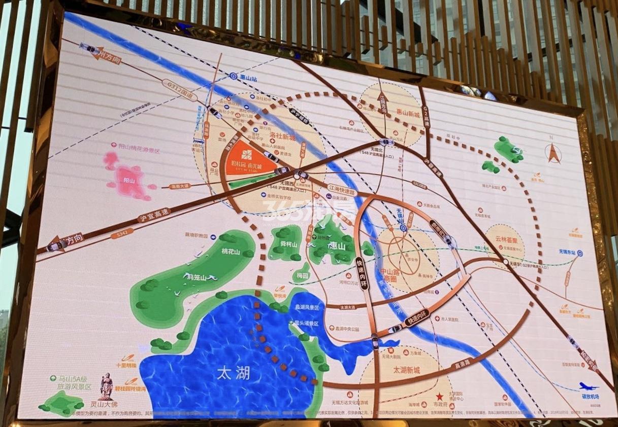 碧桂园南光城交通图