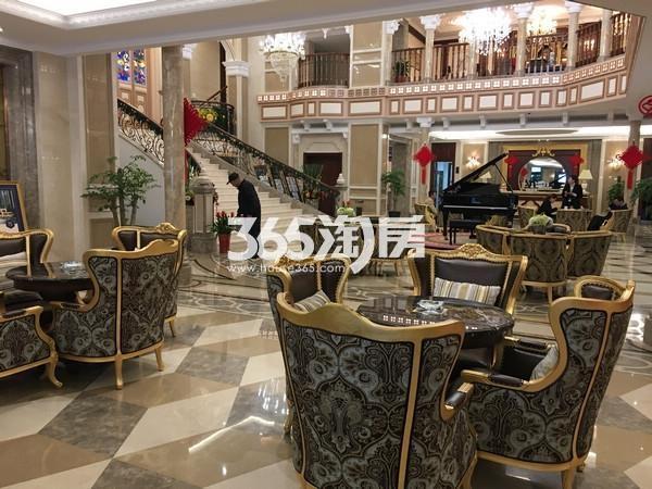 无锡瑷颐湾售楼处实景图(2017.2 摄)