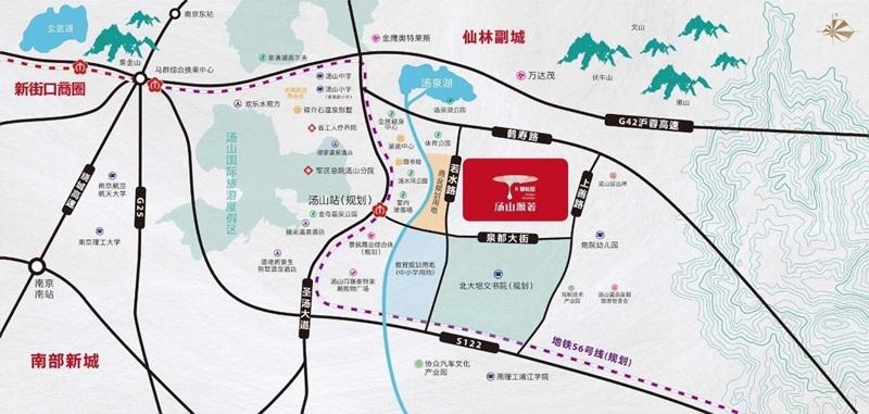 碧桂园若水雅苑交通图