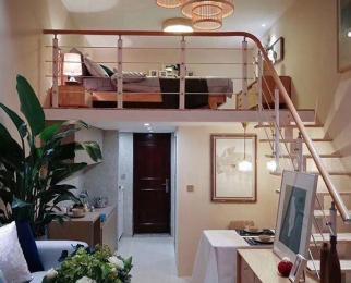 中邦欢乐颂 挑高精装修公寓 实际80平 30万起庄桥地铁口