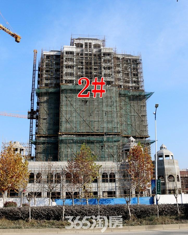 信德悦城2#施工中(2017.12摄)