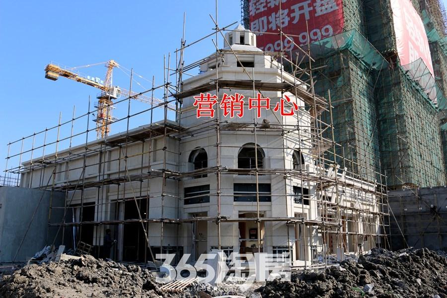 信德悦城营销中心施工中(2017.12摄)