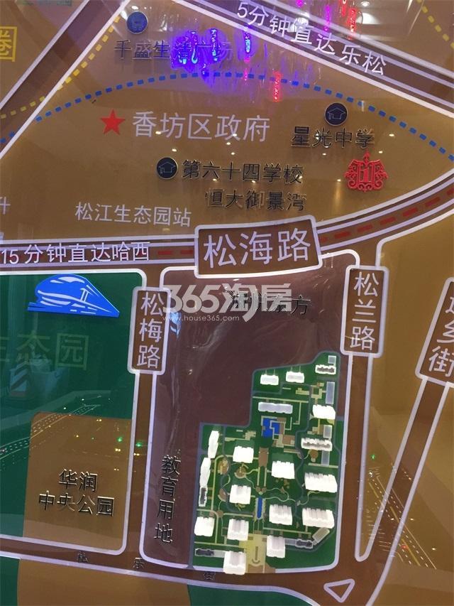 香湾青城交通图