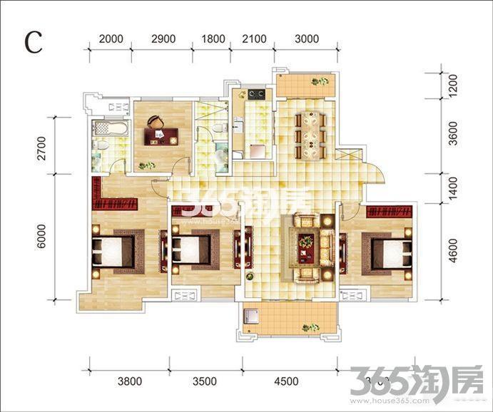 琥珀瑞安家园户型图