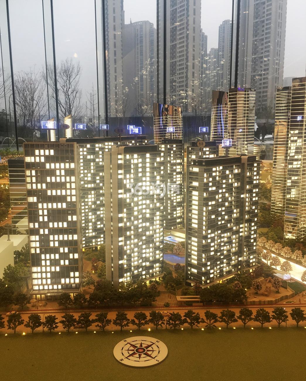 2018年1月信达中心|杭州壹号院售楼处沙盘