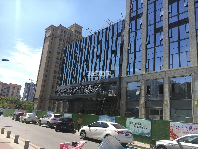 金轮双子星国际公寓实景图