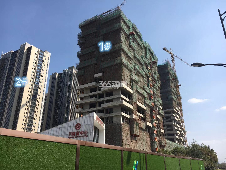 明发财富中心1、2号楼实景图(11.25)