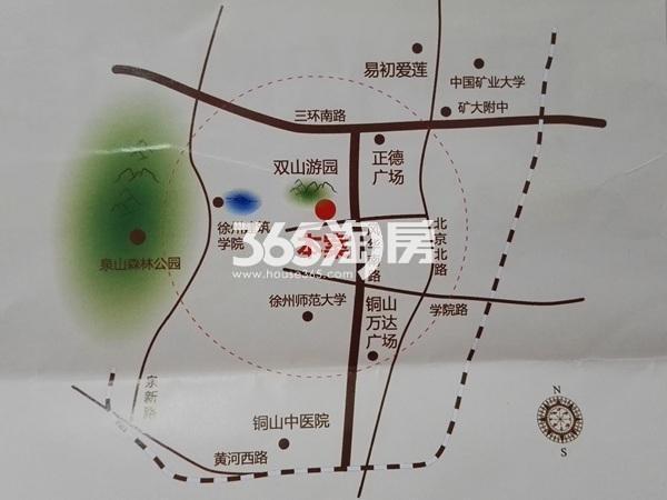 福润苑交通图