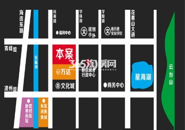 港利·锦绣江南交通图