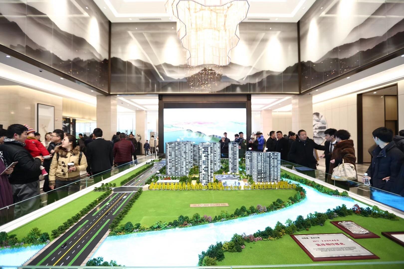 中国铁建·花语江南实景图