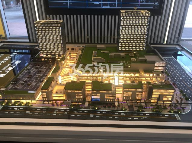 富力万达广场实景图