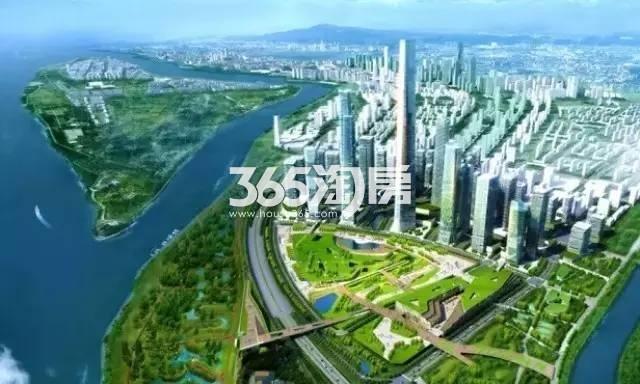华侨城欢乐滨江效果图