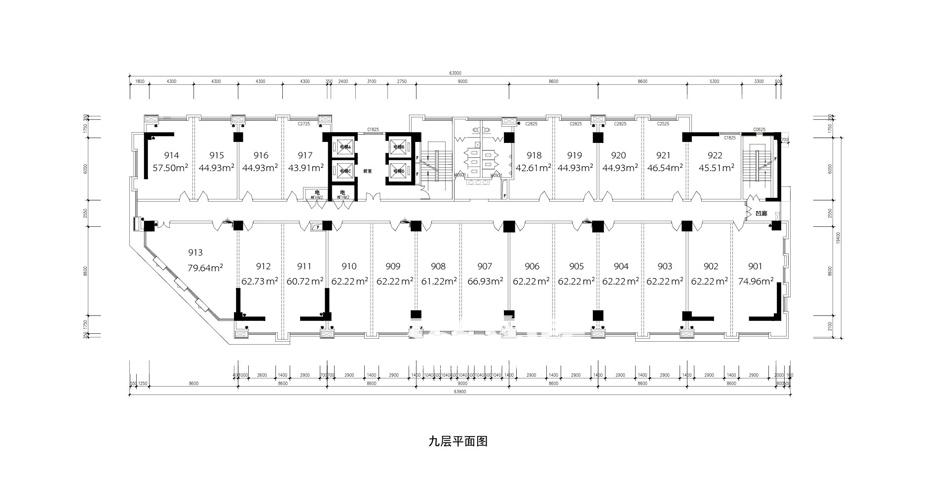 天润国际大厦户型图