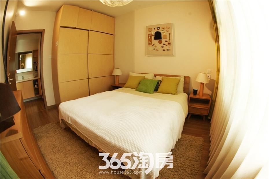 万科海上传奇A3户型约90㎡样板间—卧室