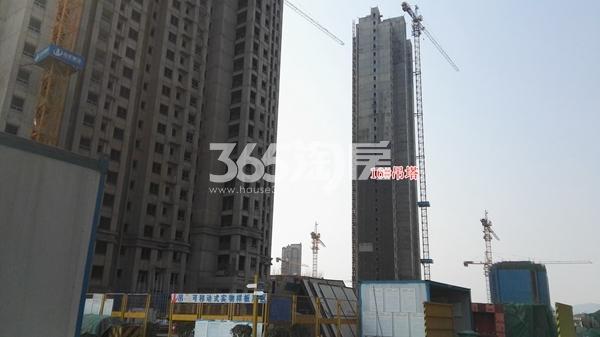 荣盛花语城二期16楼在建实景(12.14)