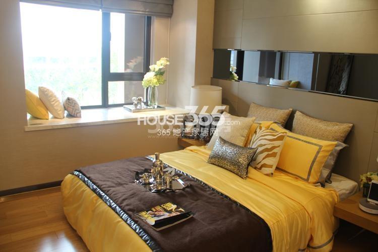 雅居乐国际花园D3户型59方样板房——卧室