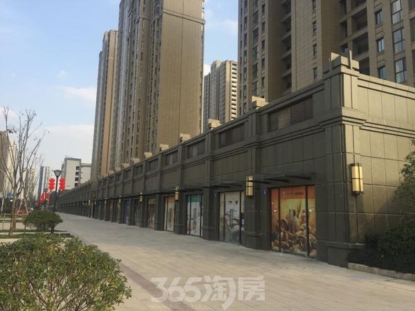苏宁悦城二期沿街商铺实景图(2017.1 摄)