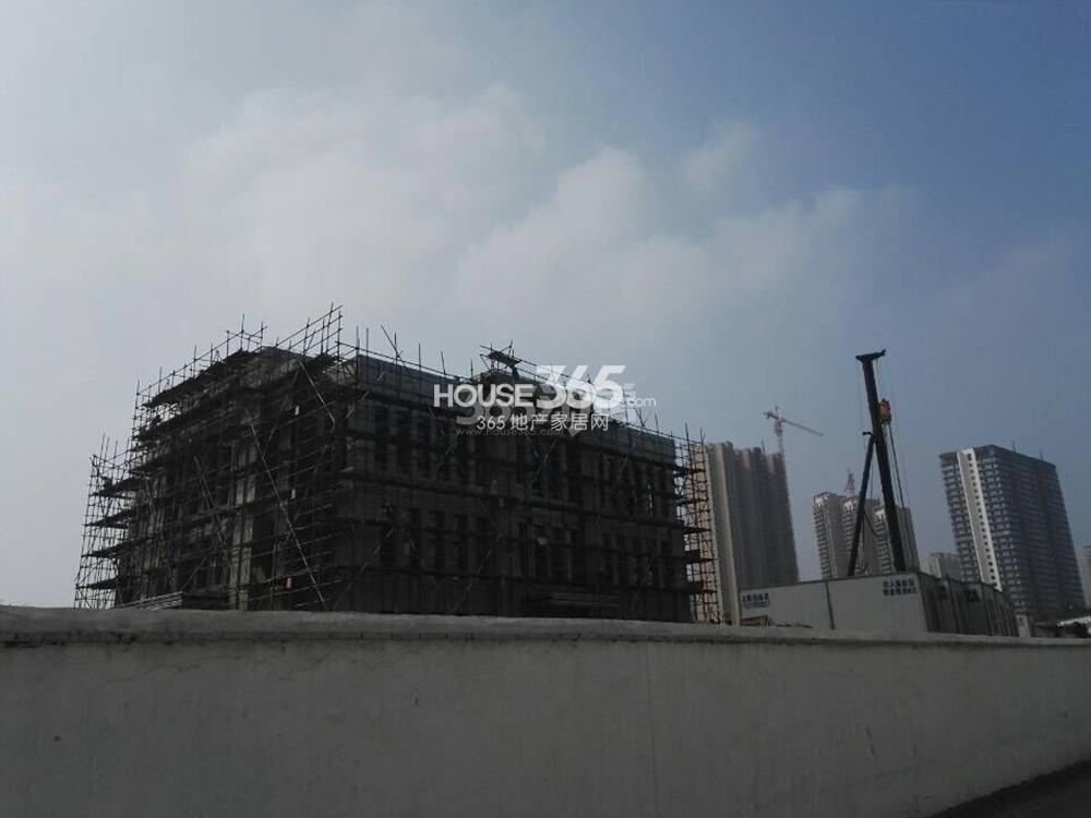 禹洲吉庆里施工实景图(10.23)
