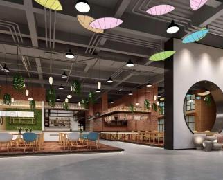 艺术广场适合主题餐厅、时尚餐饮、品牌餐饮、静吧餐