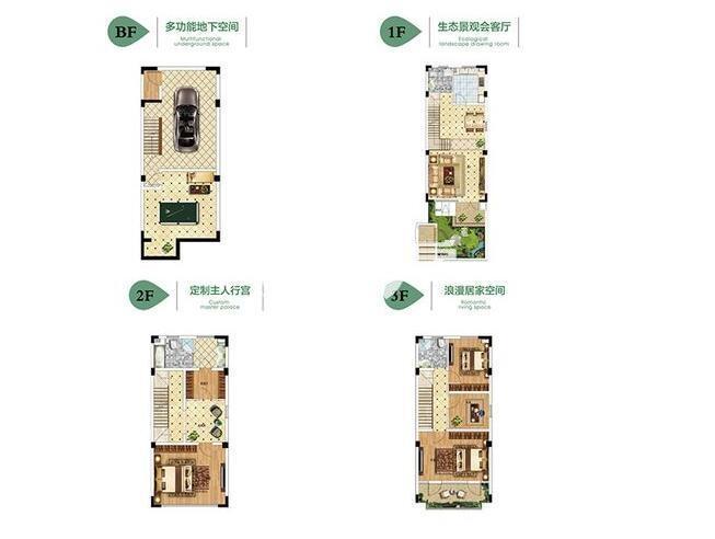 4室2厅1厨3卫