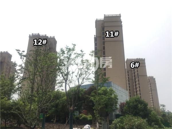观山悦楼栋施工进展(6.25)