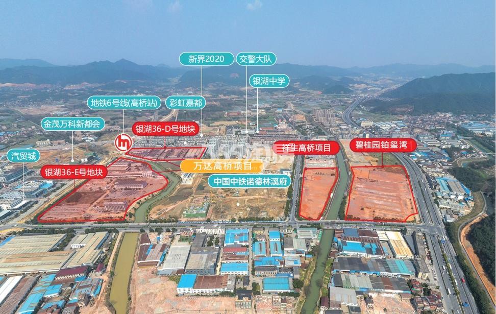 碧桂园铂玺湾交通图