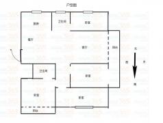 香缇郡4室2厅1卫131平方产权房毛坯