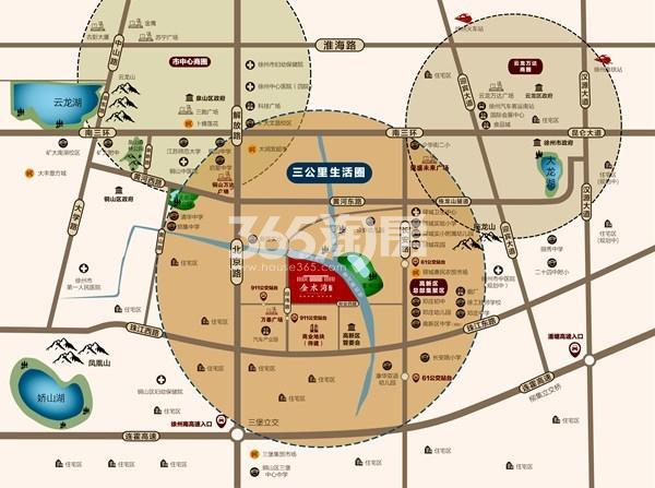 金水湾交通图