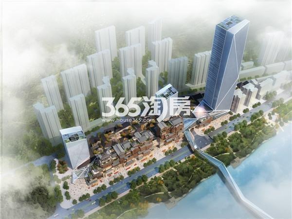 黄河春城鸟瞰图