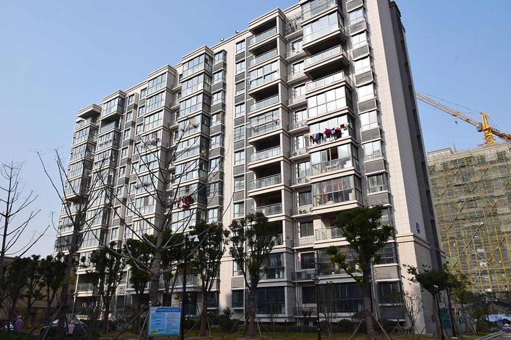 锦城丽景实景图