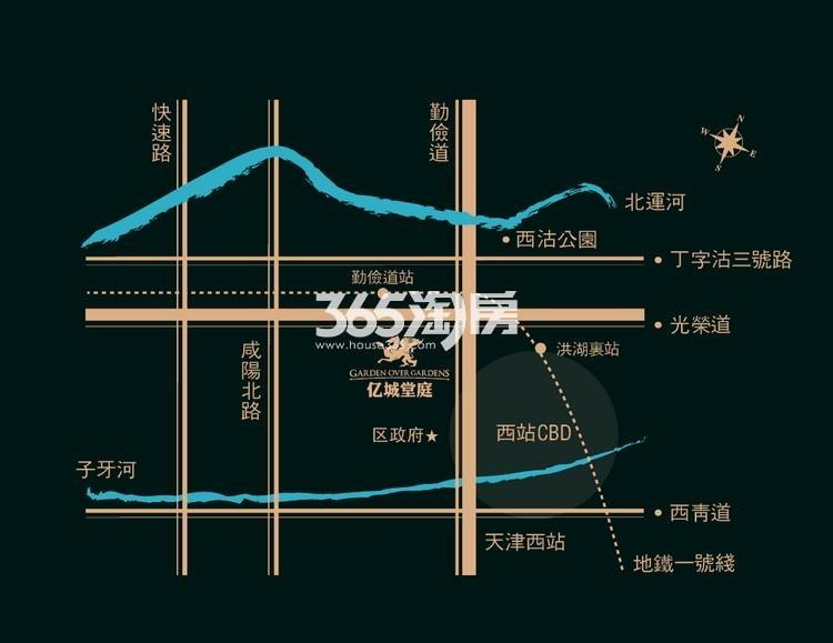 星公馆交通图